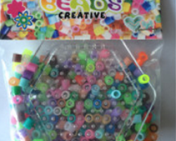BE12004  Fuse Beads with Hexagon Pegboard