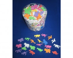 Foam Dinosaurs with Adhesive Toy AC752