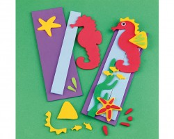 Seahorse Bookmark Craft Kit (makes 12) CE4620