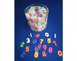 Foam Numbers with Adhesive Toy AC746