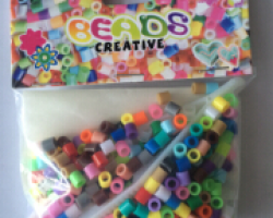 Fuse Beads with Paper (BE12006)