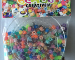 Fuse Beads with Circle Pegboard (BE12002)