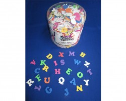 Foam Alphabet with Adhesive Toys (AC756)